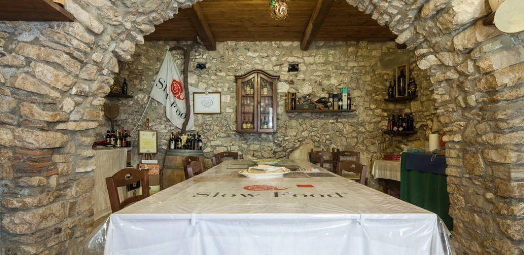 Sala degustazione - Al Campanaro