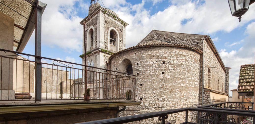 Veduta del campanile di Taurasi - Al Campanaro